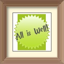 all-is-well-picture-frame